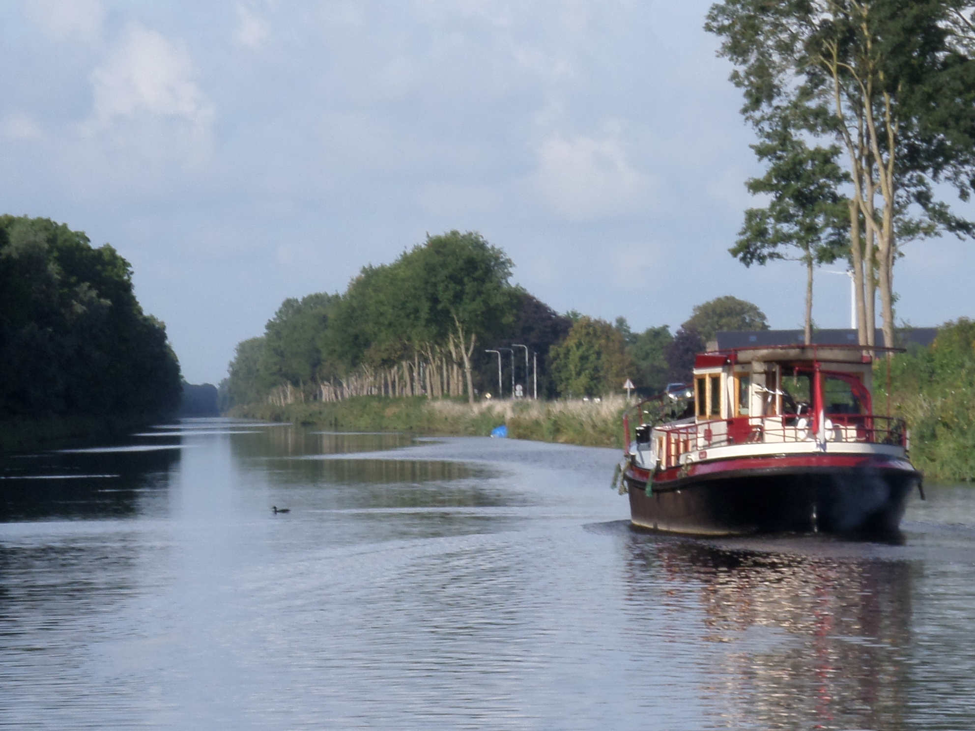 This is the beginning of the dream - a waterway to: who knows where or what?