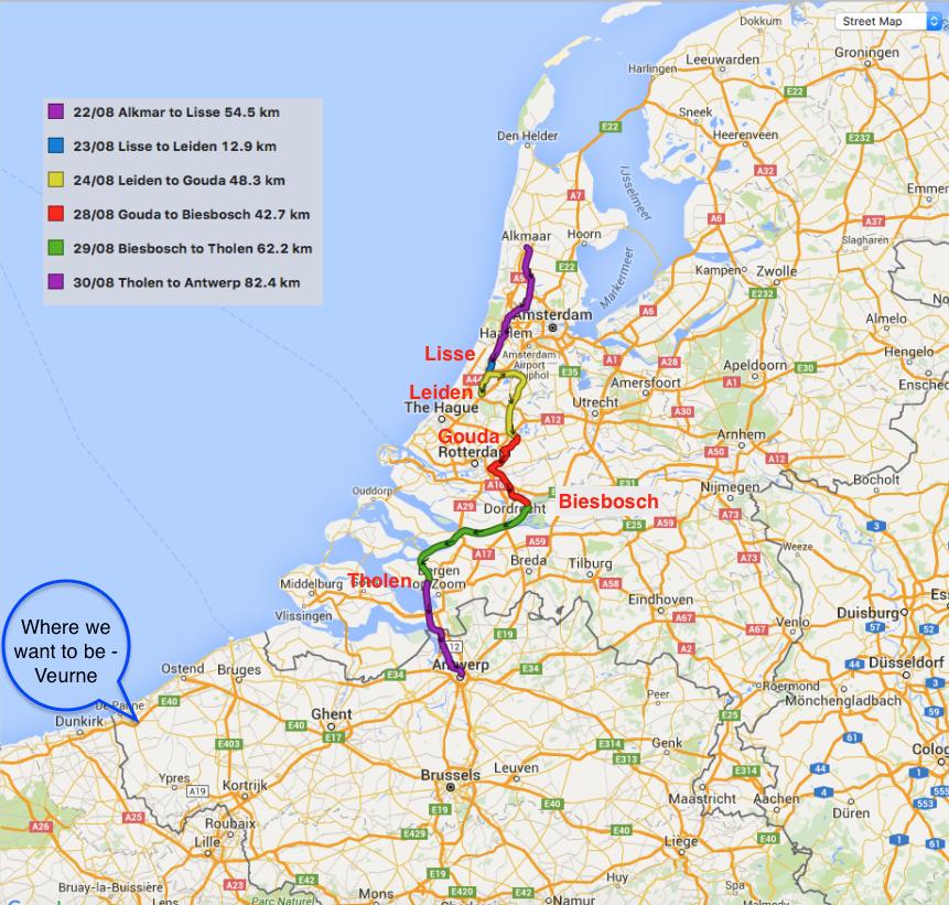 The Rush to Belgium