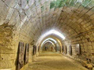 Underground gallery.