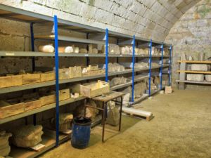 Storeroom for rubble to be added to reconstruction.