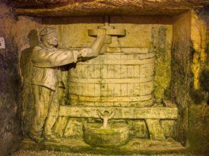 Wine pressing
