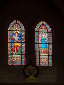 Saint Michael and Saint Gabriel.