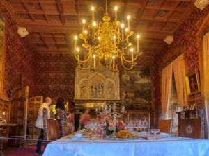 The sumptuous Dining Room.